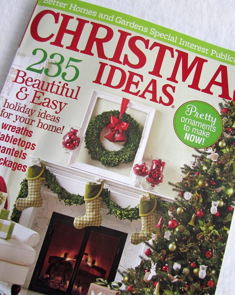 Marvelous Better Homes And Gardens Craft Ideas Part - 13: ... With The Extremely Talented Ann Blevins, Editor At Better Homes U0026  Gardens Special Publications, On That Yearu0027s Holiday Crafts Magazine. See  It Here.