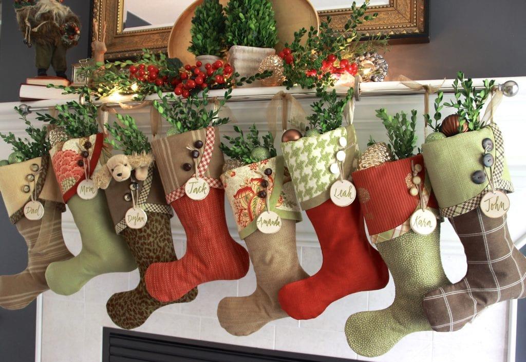 Winter Berry Christmas Stockings