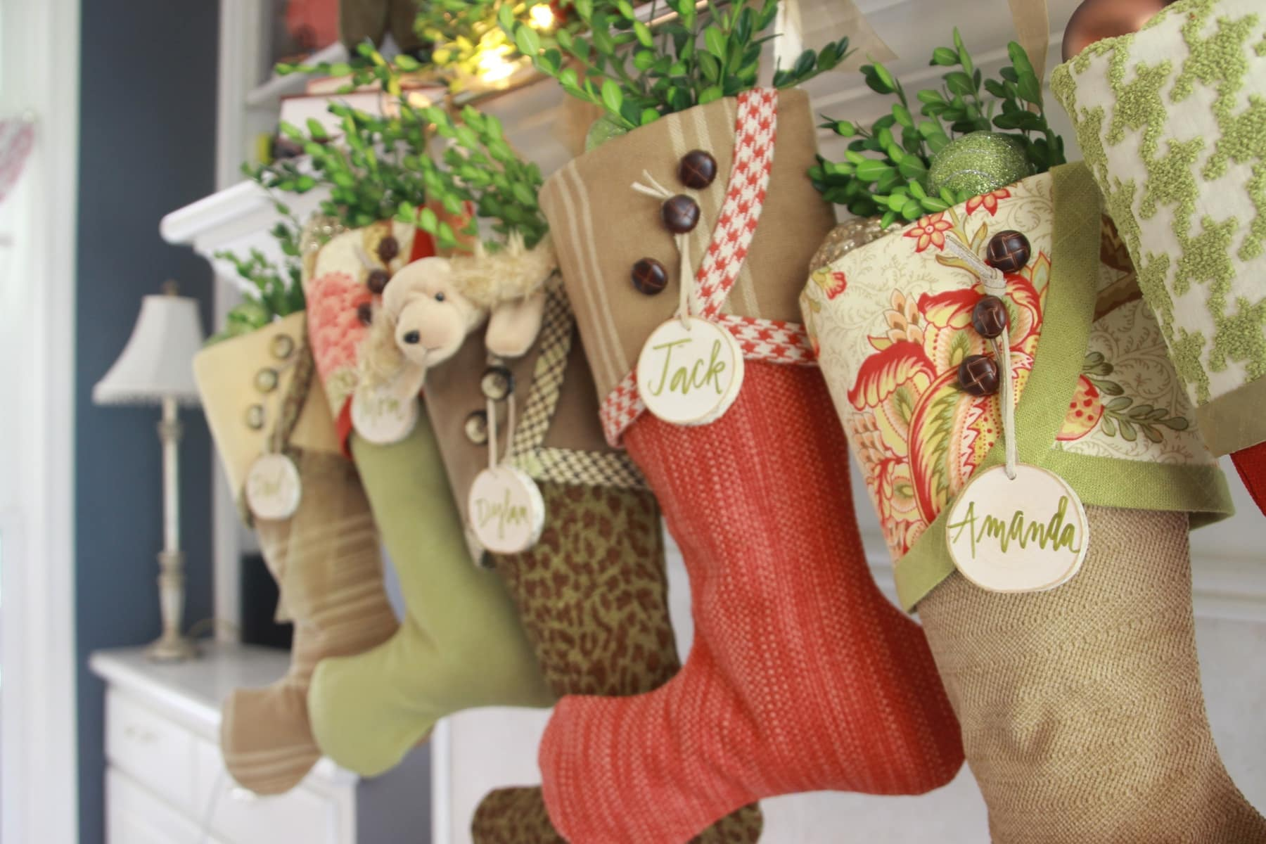 2016 Christmas Stockings South House Designs