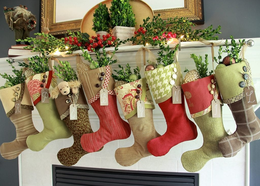 christmas stockings all thing nature