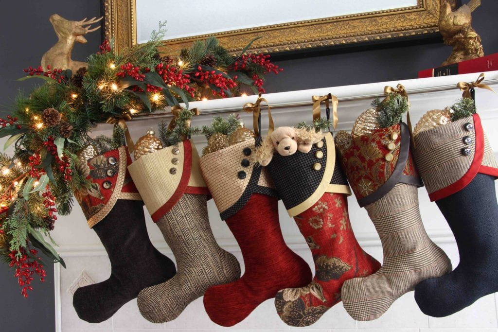 Baker Street Christmas Stockings with no Name Tags
