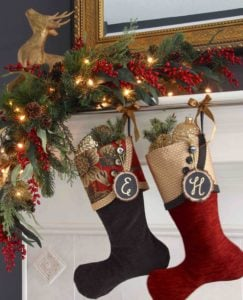 The classic masterpiece of 221B in Christmas stockings