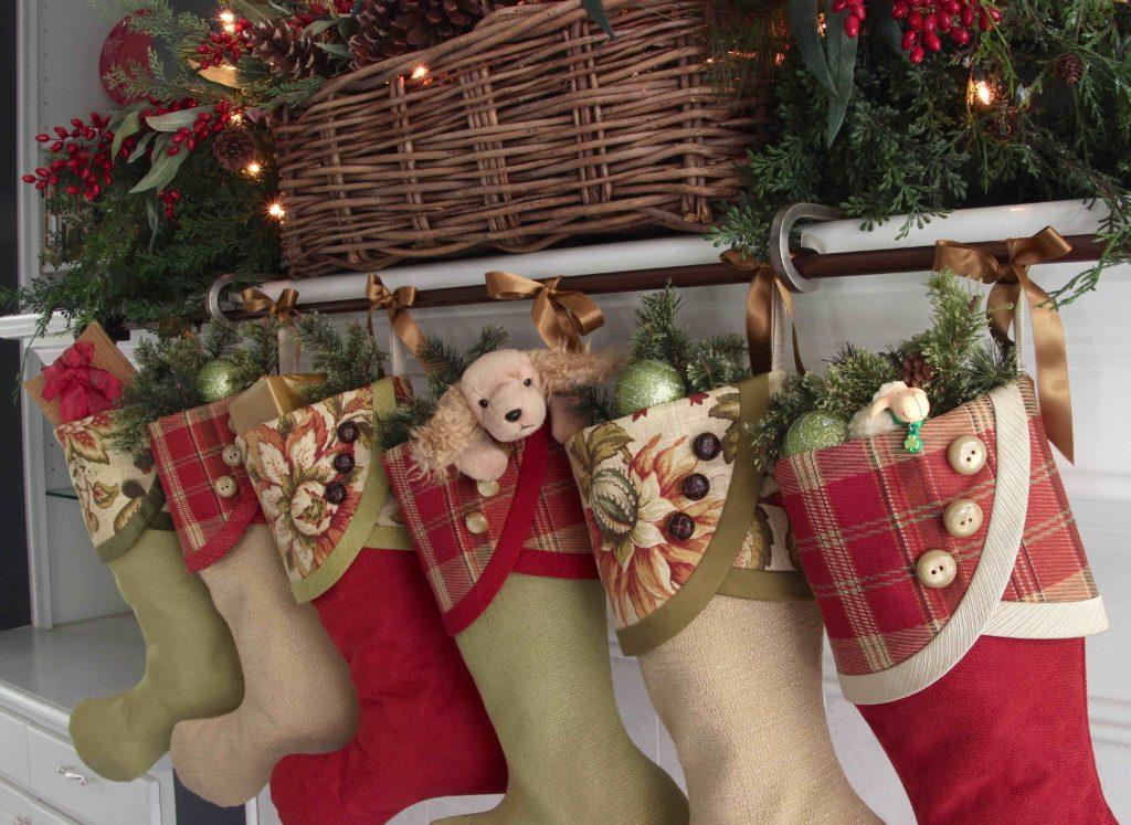 Irish Tidings Christmas Stockings