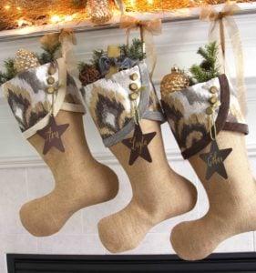 Contemporary Christmas Stocking